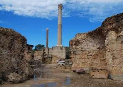 Columns in Carthage