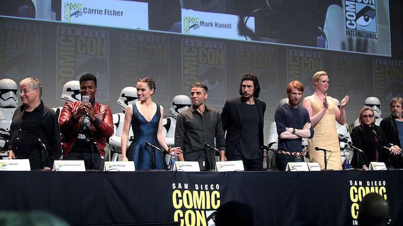 The Force Awakens Cast