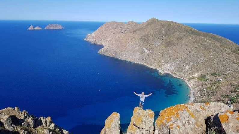 Clim up Jalta Island