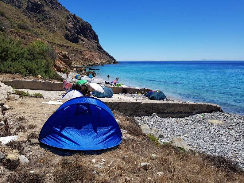 Self Catered Camping on Jalta Island