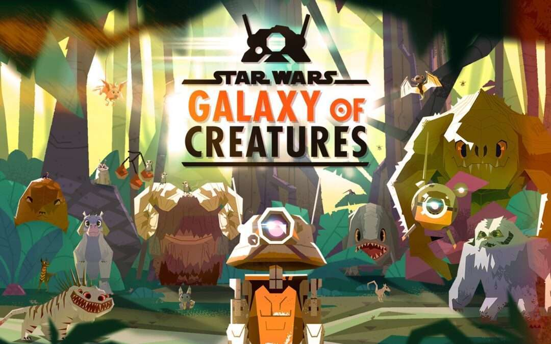 'Star Wars Kids' Launches New Series of Animated Shorts Titled 'Galaxy of Creatures'